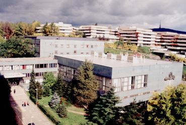 Budova UPC zvonku
