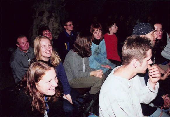 ...a toto je naše publikum...