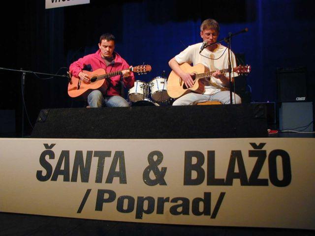 Štefan Šanta s Tomášom Blažom